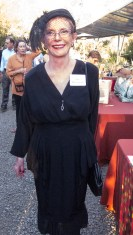 Olga Jane Rottermund in all vintage, courtesy of the thrift shop.
