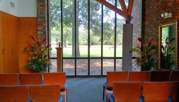 Interior of small chapel