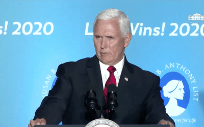 Pence Becomes First Vice President to Visit Pro-Life Pregnancy Center
