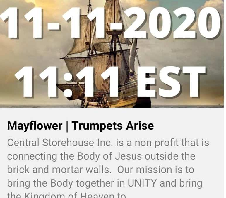 Descendant of William Bradford Ushered in Anniversary of Mayflower Compact with Shofar Army and New Compact-Thanksgiving Message