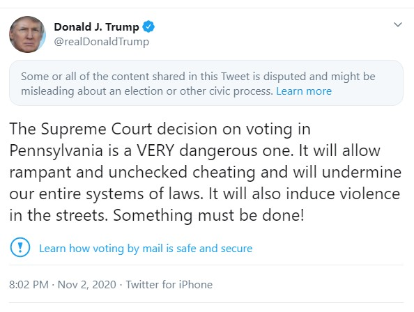 Twitter Disabled Trump Tweet, Kaleigh McEnany Reacts on Twitter, Talks about Victory