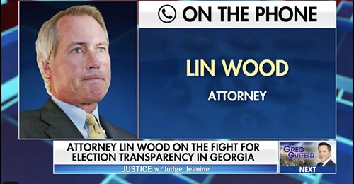 "PIRRO INTERVIEW: Attorney Lin Wood is on the War Path Against Alleged Corruption, ""Trouble's coming AOC's way too, Stay tuned"""