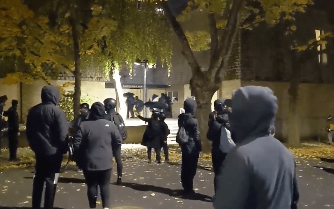 Portland Antifa Intercepted in Attempt to Burn Down Apartment Building on Eve of Election