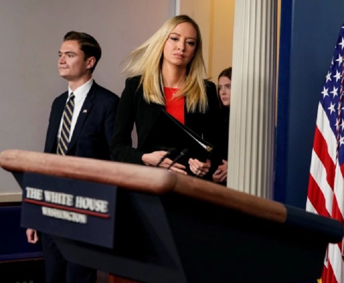Kayleigh McEnany Sets the Record Straight About Trump Not Condoning Political Violence