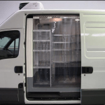 PVC CURTAIN FOR VEHICLE, industirial curtain for cold truck, refrigerator truck, isotank, container, cold room,