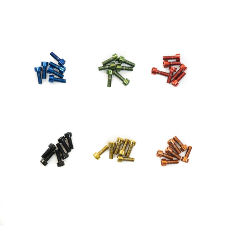 Coloured Stem bolts