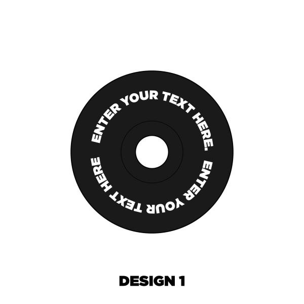 Custom Headset cap design 1