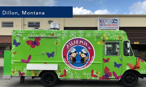 Dillon, Montana Mi Pakao KEH Food truck by United Food Truck Miami