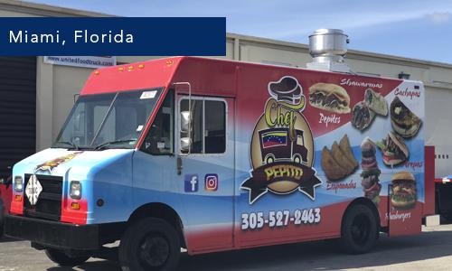 Miami Florida Chef Pepito Food Truck
