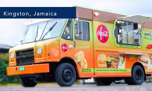 Pita Grill Wrap Kingston, Jamaica Food Truck