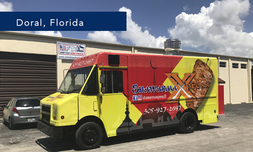 Shawarma Express Miami Florida Food Truck