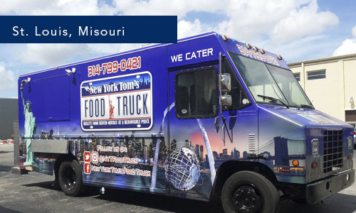 St Louis, Misouri New York Toms food truck foodtruck by United Food Trucks