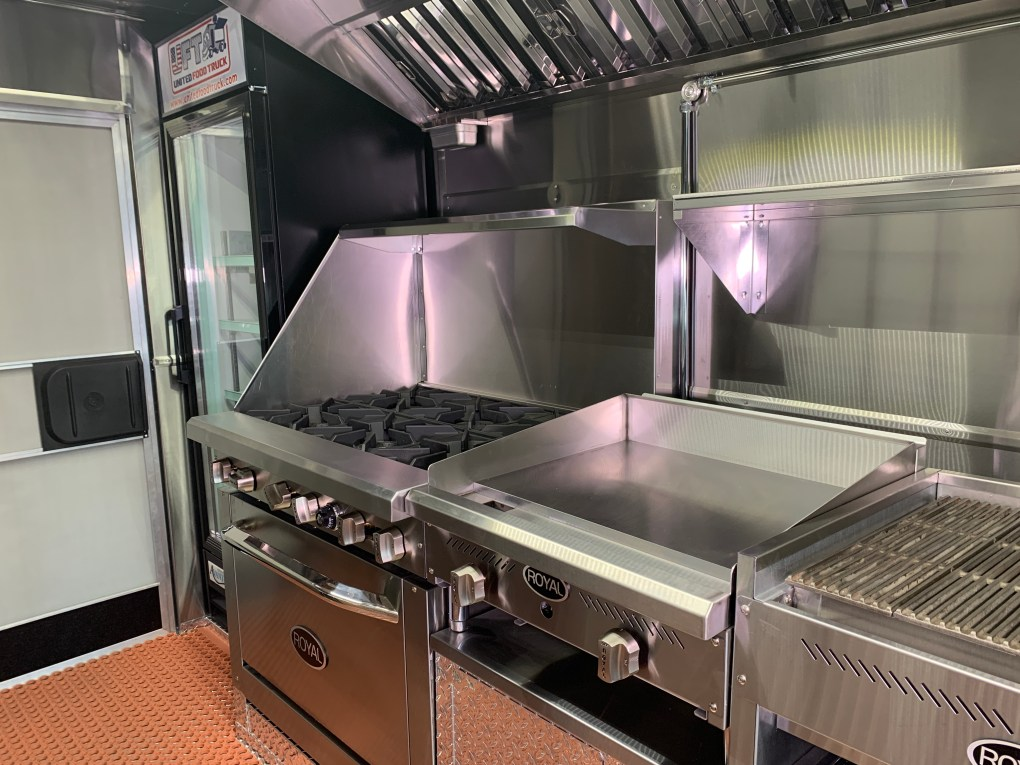 babys coffee kitchen food truck for sale
