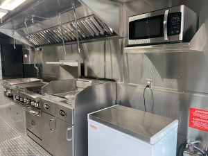 Catering Food Truck kitchen