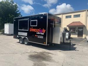 concession trailer black