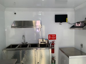 Vegan Kitchen Concession Trailer