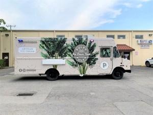Ice cream food truck for sale miami