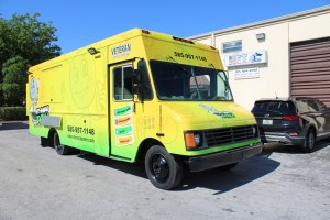 left handed Spatula food truck for sale
