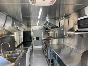 left handed Spatula food truck kitchen inside for sale
