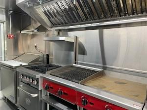 Left handed kitchen Food Truck For Sale