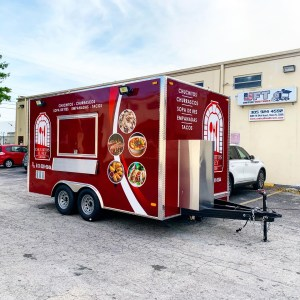 Concession trailer latin food