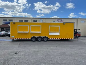 30 ft concession trailer