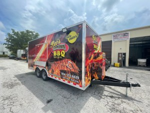 bbq concession trailer for sale