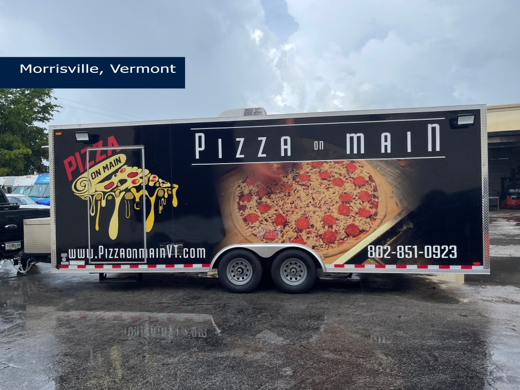 pizza trailer for sale