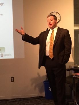 U4D April 2014 Guest Speaker: CyberSheath CEO Eric Noonan