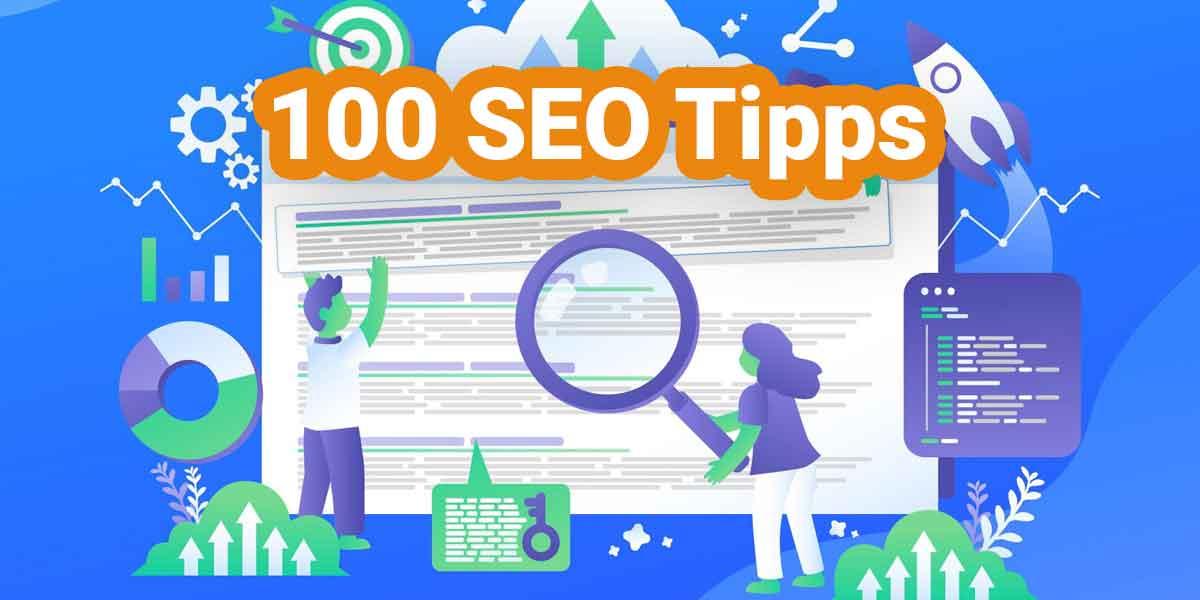 100 SEO Tipps
