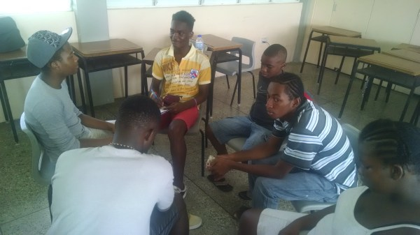 Small group session