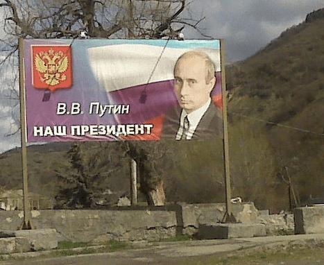 """Putin is our Presient"""