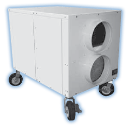 15-60 kW portable heating unit