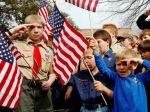 Boy Scout photo, salute