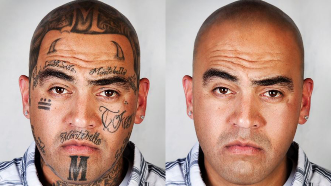 Beyond the ink: Photographer turns back clock on ex-gang