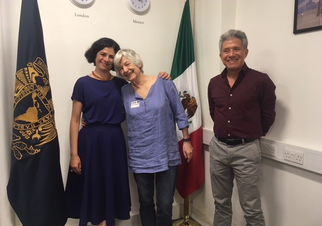 Charlotte Broad visits UNAM UK, Centre for Mexican Studies