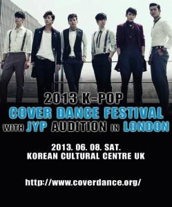 JYP Audition, London, Korean Cultural Centre UK, KCCUK