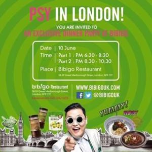 PSY Bibigo UK