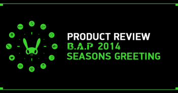 B.A.P, TS Entertainment, Merchandise, 2014