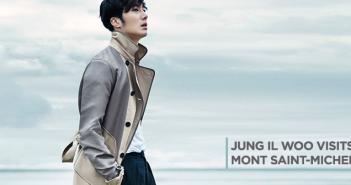 Jung Il Woo, Normandy, France, InStyle Magazine, Korea, Mont Saint-Michel