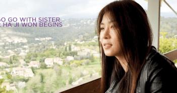 Ha Ji Won, Go Go With Sister, France