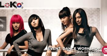 LoKo, Miss A, Dance, Workshop, Event