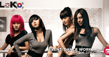 LoKo, Miss A, Dance, Workshop, Event