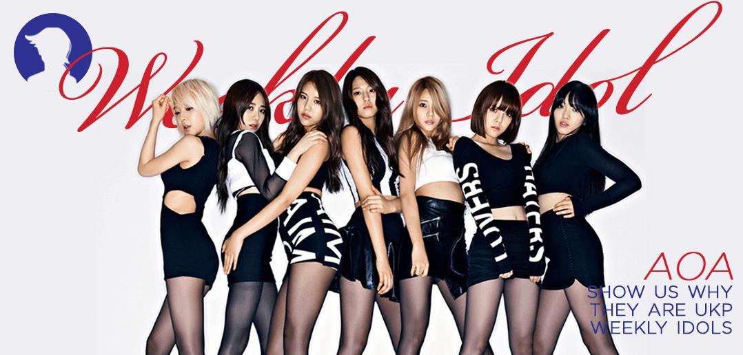 AOA, Weeky Idol. FNC Entertainment