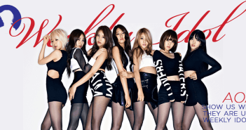 AOA, Weeky Idol. FNC Entertainment