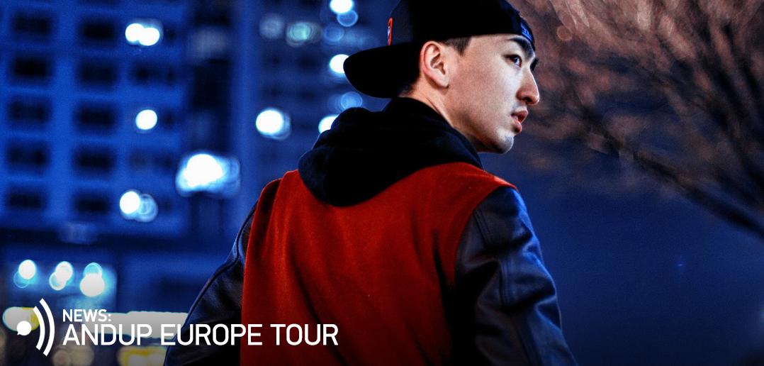 Andup, Europe, Tour, 2016