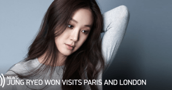 Jung Ryeo Won, Actress, Paris, London, Europe, UK