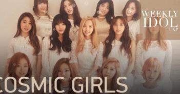 Weekly Idol, Cosmic Girls, WJSN