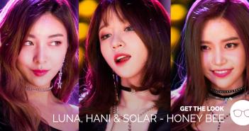 Get the Look, Fashion, Luna, Hani, Solar, EXID, MAMAMOO, f(x)