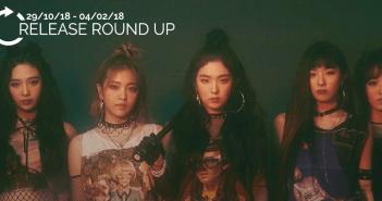 Release Round Up, Red Velvet, DEAN.
